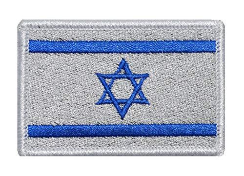 nouler Flagge Stickerei Klettverschluss Armband Tuch Japan Japan Israel Türkei Klebrig Und Gebrauchsfertig,Israel,Einheitsgröße -