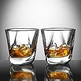 Ecooe 2 x 200ml Whiskeygläser Whisky Glas Set Whiskybecher für