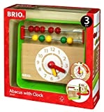 BRIO 30447 Infant and Toddler Abacus with Clock