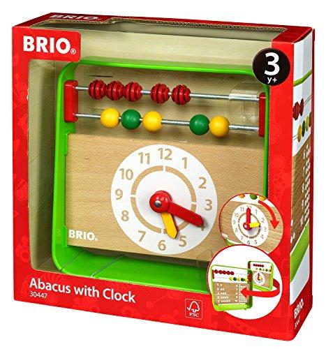 Brio- Abaco con Orologio, 30447