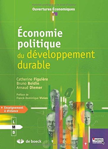 Économie politique du developpement durable