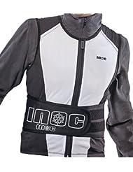 Chaleco protector de espalda Inoc, color - negro, tamaño small