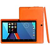 Android 4.4 Tablet PC 7Inch16:9 Width Screen Duad Core 1GB+8GB Dual Camera (Orange)