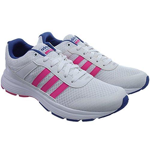 Adidas Donna Scarpe Rosa Città Vs Bianco Blu Cloudfoam calzature Sportive W Blue Bianco Shocking rYqwrS