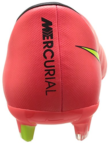 Nike Mercurial Victory V Fg, Chaussures de football homme Hyper Punch/Metallic Gold Coin-Black-Volt