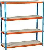 Simonrack simonforte 1804-4 - Kit plywood azul naranja madera