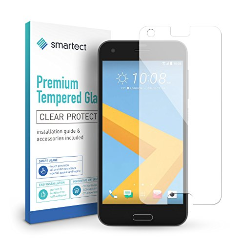 smartect Glass Screen Protector for HTC One A9s [2 Pack] - 9H Tempered Glass - Ultra-Thin Design - Bubble-Free Installation - Anti-Fingerprint