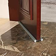 Flexible Double Sided Draft Stoppers For Bottom Of Doors: Sound Proof, Noise Reduction, Energy Saving Dust Pro