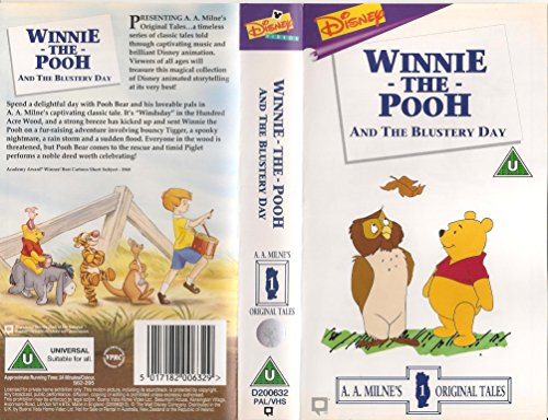Winnie The Pooh And The Blustery Day [UK-Import] [VHS]