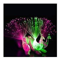 Dsaren 12 Pcs Finger Lights Color Led Light Up Toys Flashlight Party Favor Supplies for Concert, Shows, Wedding and Festival