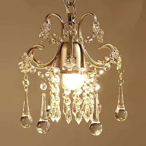 SUNA LEDAmerican Land Kristall Kleine Kronleuchter Restaurant Licht Foyer Beleuchtung [Energieklasse A +++] - Kleines Foyer Kronleuchter