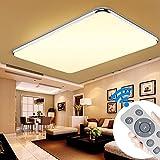 YESDA 64W LED Deckenleuchte Deckenlampe Badlampe Leuchte mit Fernbedienung Schlafzimmer Dimmbar