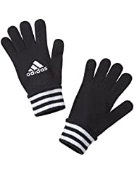 adidas FB Fieldplayer - Guantes unisex, color negro / blanco, talla M