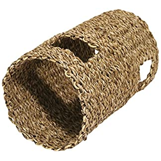 Rosewood Boredom Breaker Small Animal Activity Hyacinth Tunnel, Small 8