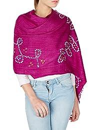 Accessoires de rose tyrien femmes ont volé pour les femmes Tie Dye cadeaux de Noël faits à la main pour ses 24x70 pouces