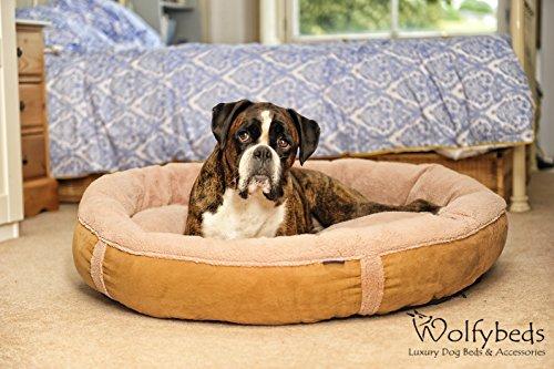 Wolfybeds-Luxury-Wraparound-Fleece-Dog-Bed-Size-Large
