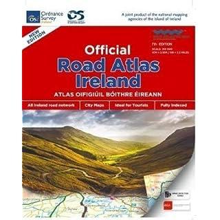 Autoatlas Irland official 1:210 000