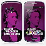 Sticker Samsung Galaxy S3 mini de chez Skinkin - Design original : Chopin par Fists et Lettres