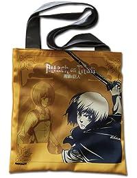 Preisvergleich für Tote Bag–Attack on Titan–New Yellow Armin Anime Lizenzprodukt ge82275