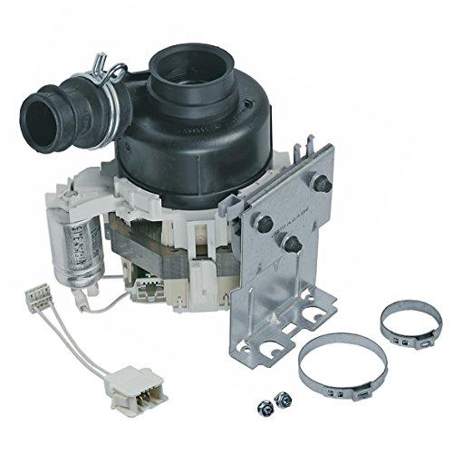 Umwälzpumpe Rezirkulationspumpe Motor komplett 80W Original Whirlpool Bauknecht Ignis 480140103012 Spülmaschine Geschirrspüler adg gsf...