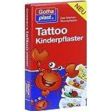 Tattoo Kinderpflaster 25x57 mm 8 stk