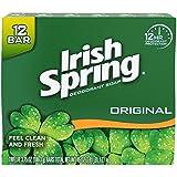 Irish Spring Bath Bar Soap, Original, 3.75 Oz. Bars, 12 Count (Pack Of 6)