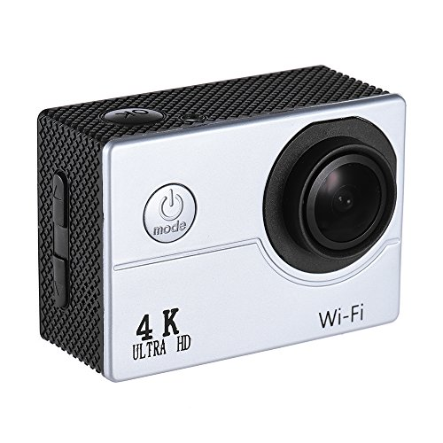 ANDOER 4 K 30FPS 16MP WIFI CAMARA DE DEPORTES DE ACCION 1080P 60FPS FULL HD 4 X DIGITAL APOYO CAMARA LENTA FOTOGRAFIA DRAMATICA