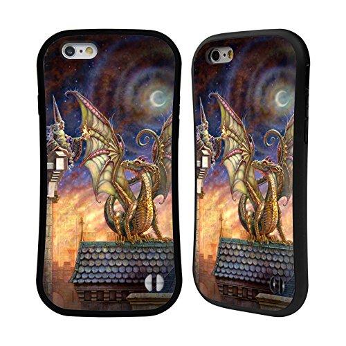 Ufficiale Myles Pinkney Drago 4 Fantasy Case Ibrida per Apple iPhone 5 / 5s / SE Drago 4