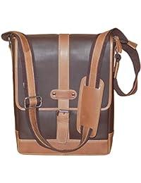 Kan 100% Genuine Leather Crossbody Sling Bag||Messenger Bag||Handbag||Hard Disk Bag||Neck Pouch||Shoulder Bag... - B071CGMLVR