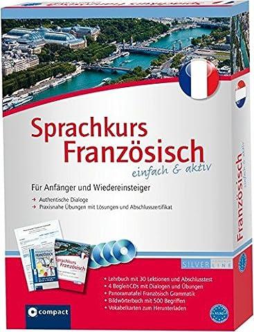 Compact Sprachkurs Französisch einfach & aktiv: Set mit 2 Büchern,