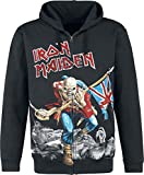 Unbekannt Iron Maiden The Trooper - Battlefield Kapuzenjacke schwarz XXL