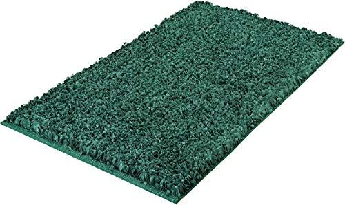 Kleine Wolke Badteppich Delight, Smaragd 60x 60 cm grün -