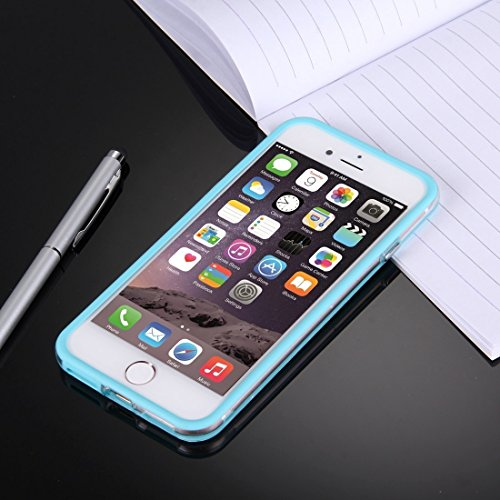 Hülle für iPhone 7 plus , Schutzhülle Für iPhone 7 Plus Ultrathin Superlight Transparente PP Schutzhülle, ,hülle für iPhone 7 plus , case for iphone 7 plus ( Color : Dark Blue ) Blue