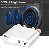 Nobsound NS-10G PRO Hi-Fi DSP 100W (50W x 2) Digital Bluetooth 4.2 Amplifier 2.0 Channel Stereo Power Audio Amp Mini Digitaler Verstärker (Without Power Supply, Silver) Test