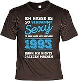 Cooles T-Shirt Zum 25. Geburtstag T-Shirt Baujahr 1993 Geschenk Zum 25 Geburtstag 25 Jahre Geburtstagsgeschenk 25-Jähriger