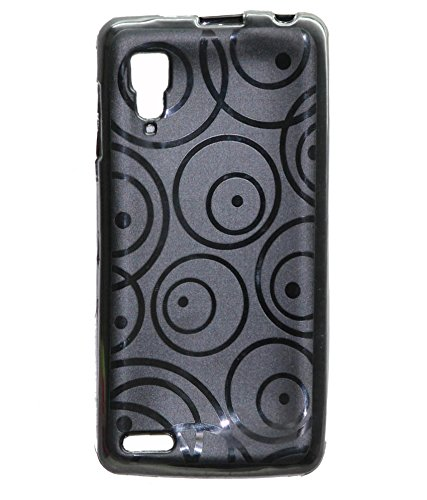 ECellStreet Exclusive Textured Soft Back Case Cover Back Cover For Lenovo P780 P 780 - Black  available at amazon for Rs.210