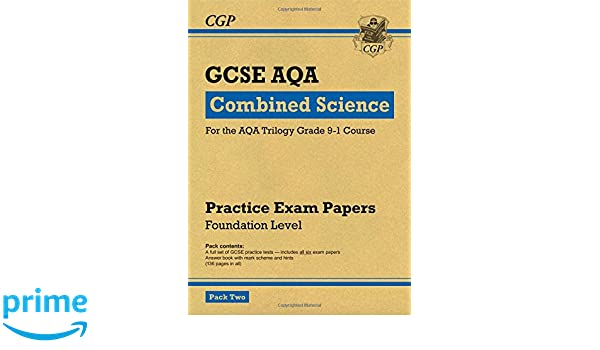 New Grade 9-1 GCSE Combined Science AQA Practice Papers: Foundation