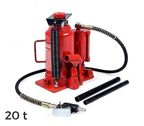 ST3055 Vérin hydraulique en forme de bouteille manuelle à air comprimé max 20 T