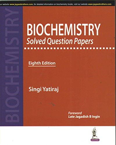 Biochemistry Solved Question Papers