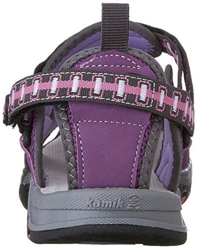 Kamik  JETTY, Sandales Bout ouvert mixte enfant Violet - Violett (PURPLE/PUR)