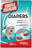 Simple Solution Protective Disposable Diapers, Small