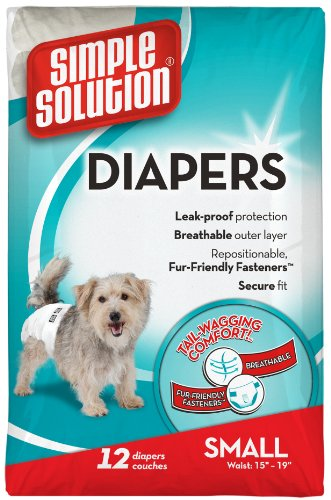 simple-solution-disposable-dog-diapers-small-one-pack-of-12-diapers