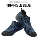 Ballop Barfuß-Schuhe Triangle V1 Sohle Schwarz Blau, Größe:41.5-42.5/270mm