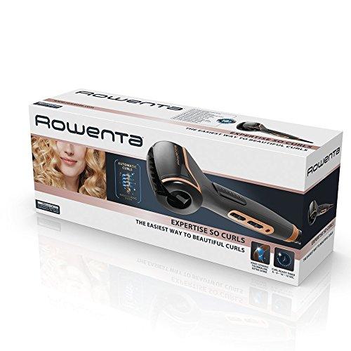 Rowenta CF3710F0 Expertise So Curls - Rizador automático cerámico, selector de 3 temperaturas y 4 tiempos de rizo, rotación alterna y calentamiento en 30 segundos