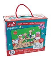Charlie and Lola 24cm x 22cm x 9cm My Really Very Giant Floor Puzzle