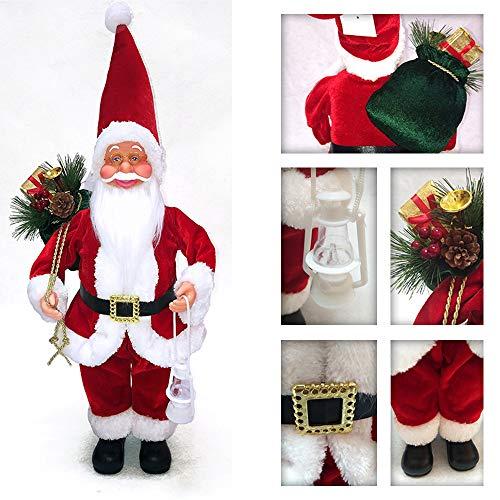 Fulltime E-Gadget Deluxe Weihnachtsmann,EIN Weihnachtsspielzeug für Santa Claus, (Rot+Weiß)