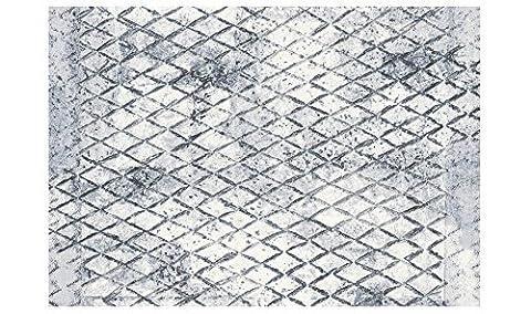 Tapis moderne géométrique gris clair Laguna 63390–7656Tapis sitap cm.160x230 LAGUNA 63390-7656