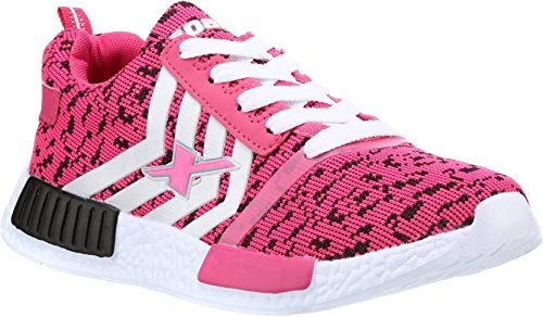 Sparx Women D. Pink & White Running Shoes [Sl-83]