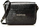 Mario Valentino Valentino by Damen Serenity Umhängetasche, Schwarz (Nero), 9x18x24 cm