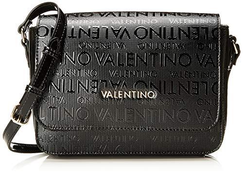 05da53d430 Mario Valentino Valentino by Damen Serenity Umhängetasche, Schwarz (Nero),  9x18x24 cm